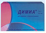 Димиа табл. п.п.о. 3 мг + 0,02 мг №28