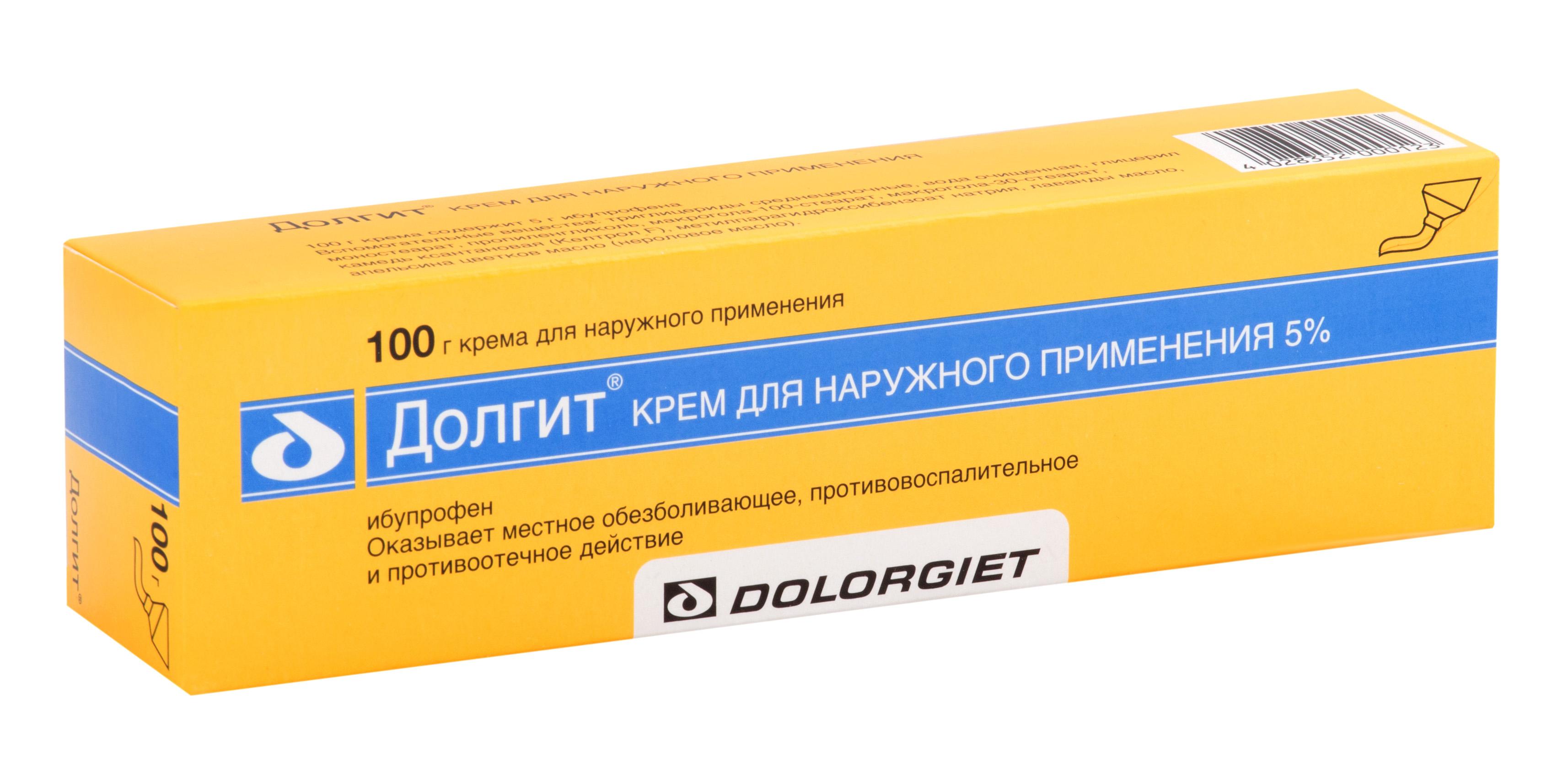Долгит крем 5% 100г n1