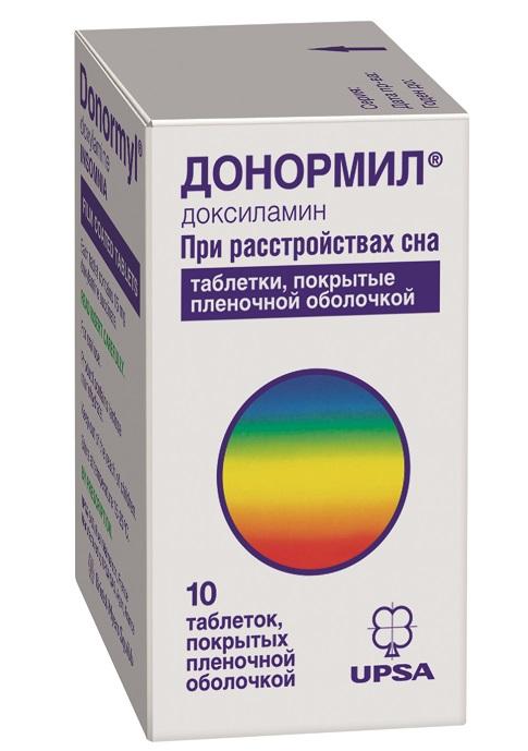 Донормил таб. п/о плен. 15мг №10