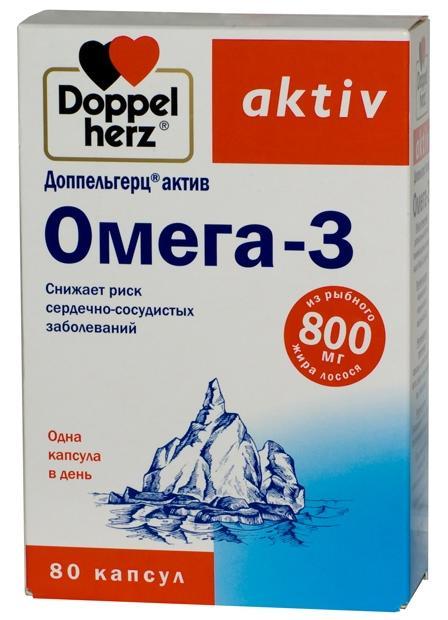 Доппельгерц актив омега-3 капс. 1,366г n80