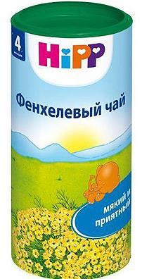 Дп хипп чай детский фенхель 200г (4+мес)