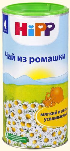 Дп хипп чай детский ромашка 200г (4+мес)