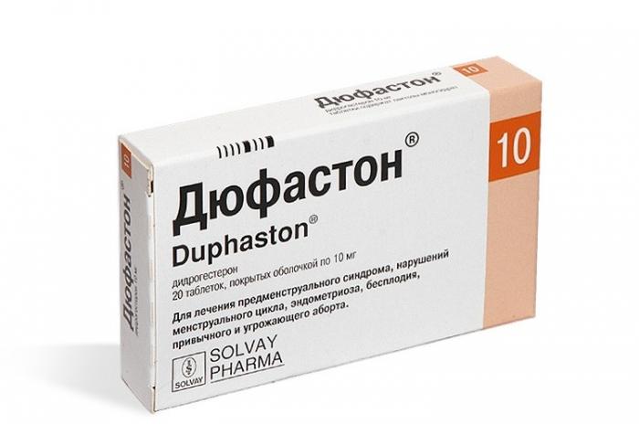 Дюфастон таб. п.о 10мг n20
