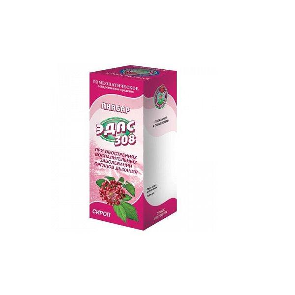 Эдас-308 анабар сироп гомеопатический фл. 100мл