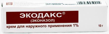 Экодакс крем 1% 10г