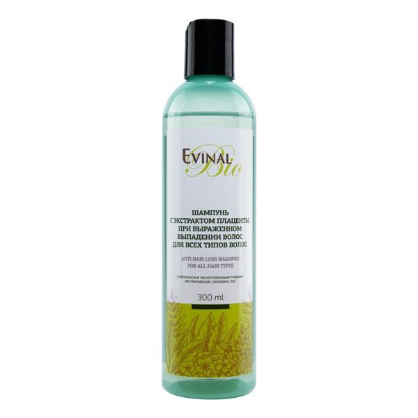 Эвиналь шампунь с экстр. плаценты при выпадении волос д/всех типов волос фл 250мл