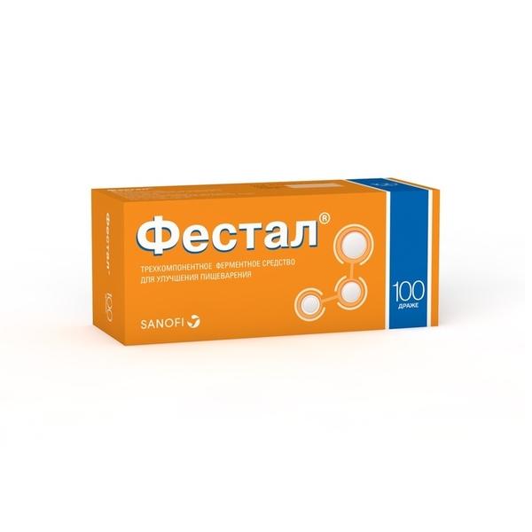 Фестал др. кш/раств n100