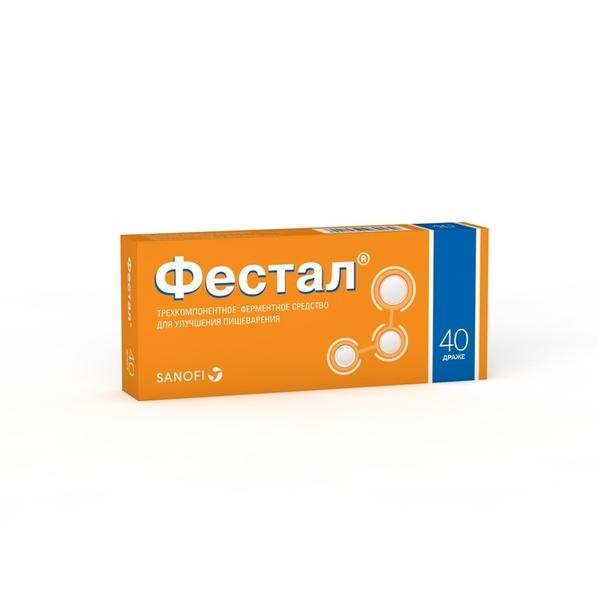 Фестал др. кш/раств n40