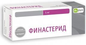 Финастерид-obl таб. п.п.о. 5мг n30