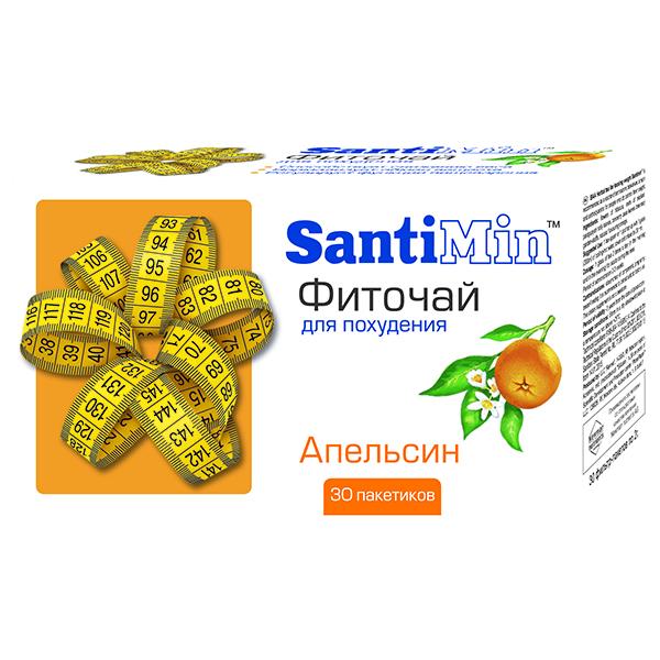 Фиточай для похудения сантимин апельсин 2,0 пакет 30 шт.