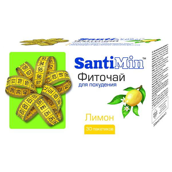 Фиточай для похудения сантимин лимон 2,0 пакет 30 шт.