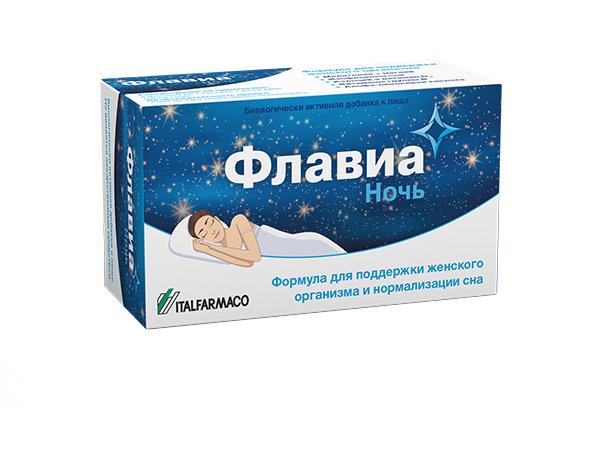 Флавиа ночь капс. №30 (бад)