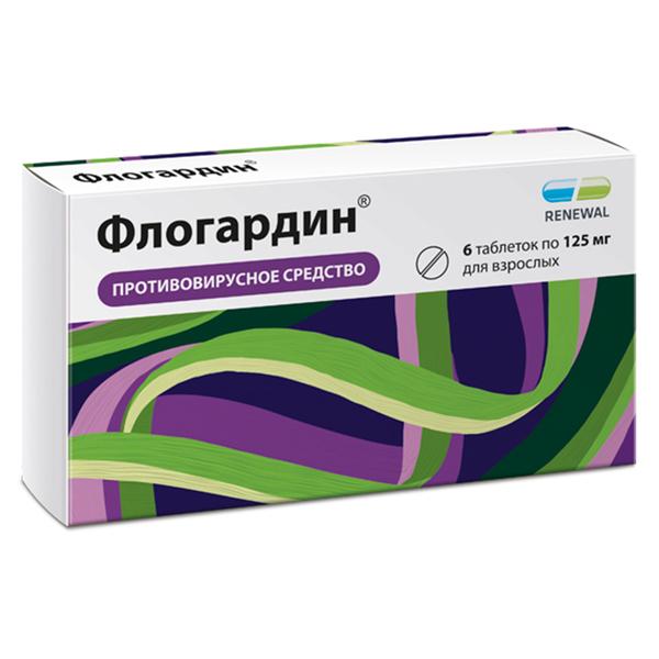 Флогардин табл. п.п.о. 125 мг №6