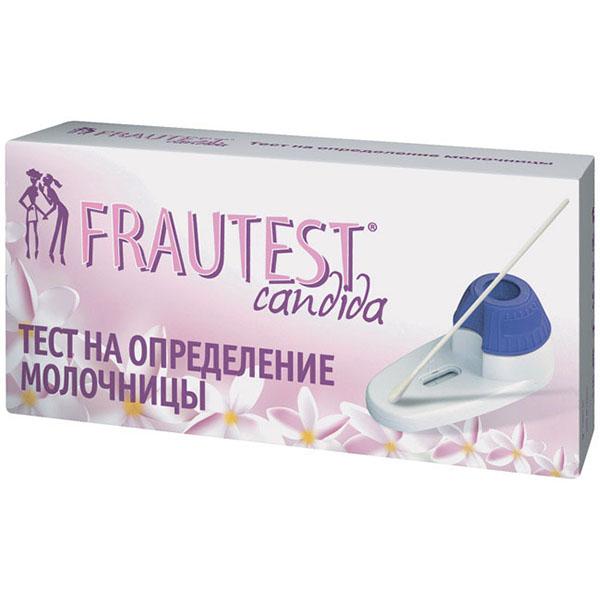 Фраутест кандида тест для определения молочницы