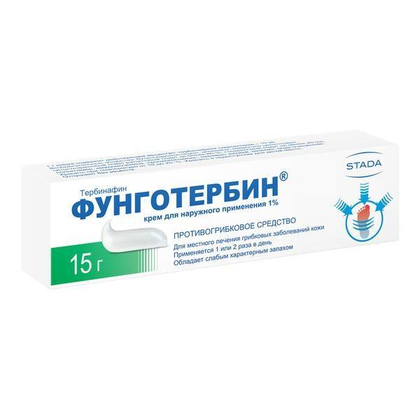 Фунготербин крем 1% 15г n1