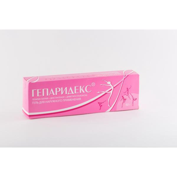 Гепаридекс гель д/нар. прим. 50г