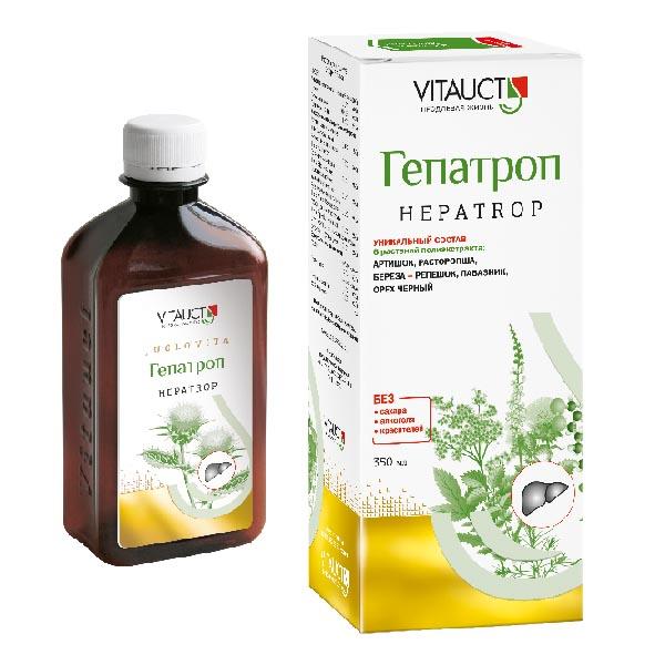 Гепатрол р-р д/вн приема фл. 350мл (бад)