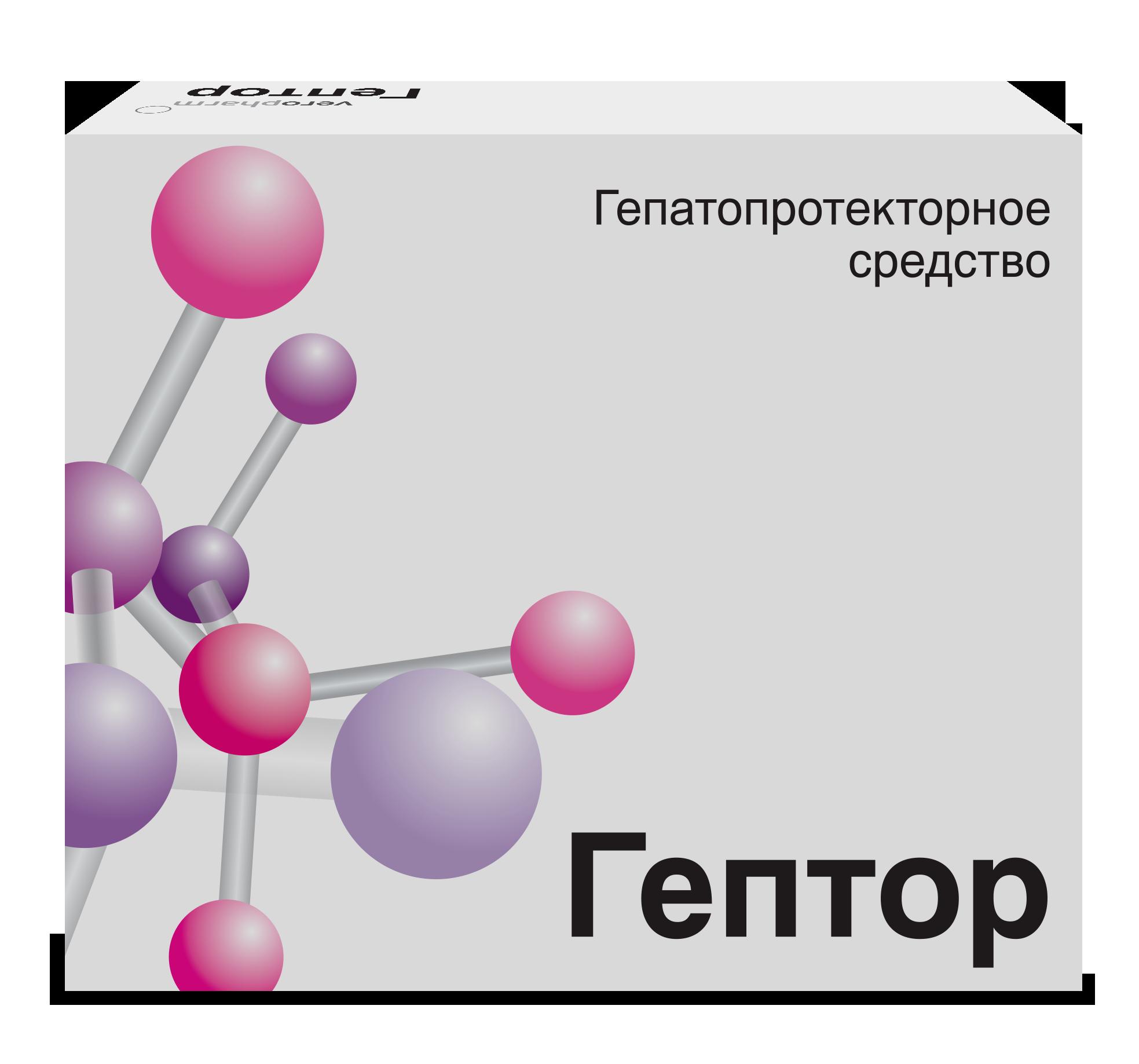 Гептор таб. п/о кишечнораст. 400мг №40