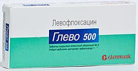 Глево таб. п.п.о. 500мг n10