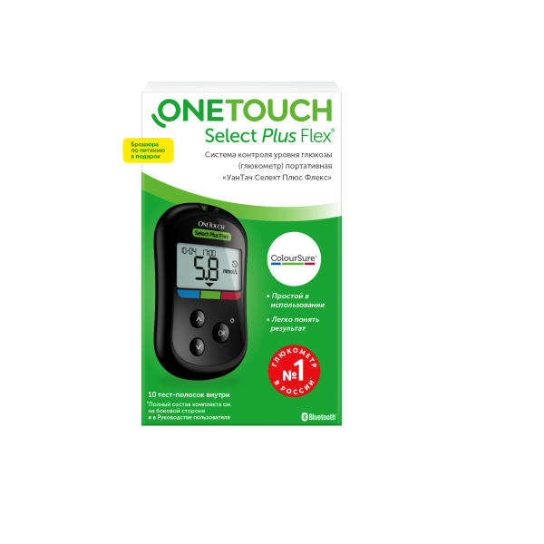 Глюкометр One Touch Select Plus Flex (комплект)