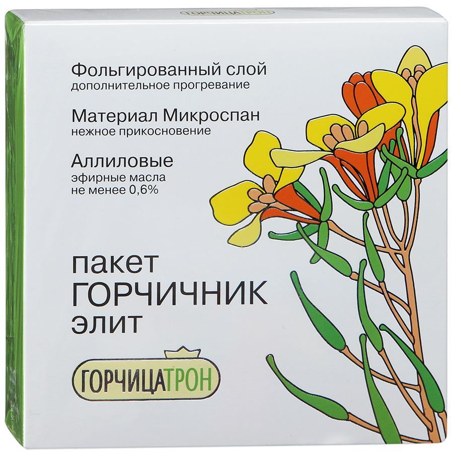 Горчицатрон элит пакет-горчичник фольгированный 3г n10