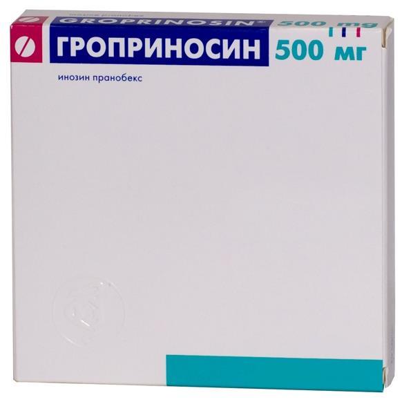 Гроприносин таб. 500мг n30