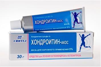 Хондроитин-акос мазь 5% 30г n1
