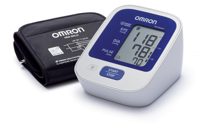 Измеритель артериального давления и частоты пульса Omron m2 classic (hem-7122-lru) тонометр автоматический