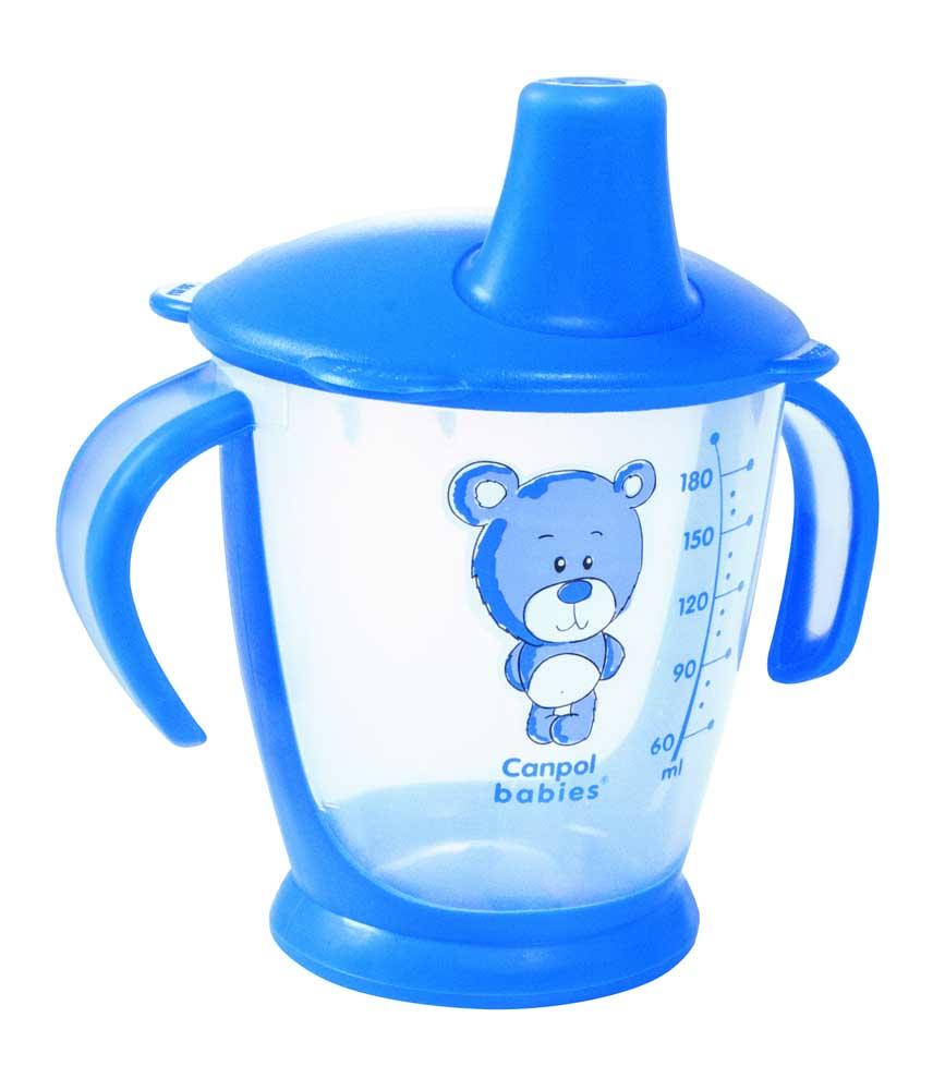 Канпол чашка-непроливайка для детей от 9 мес.180 мл (31/500)