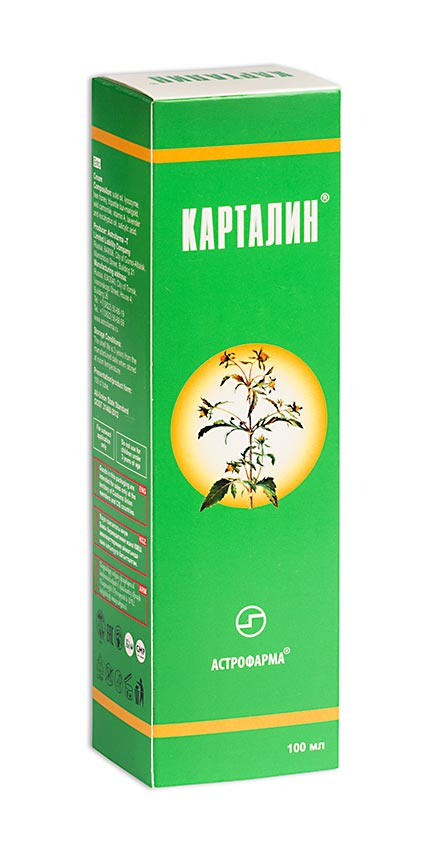 Карталин защитно-профилактическое ср-во д/кожи 100г