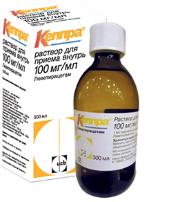 Кеппра р-р внутр 100мг/мл 300мл n1