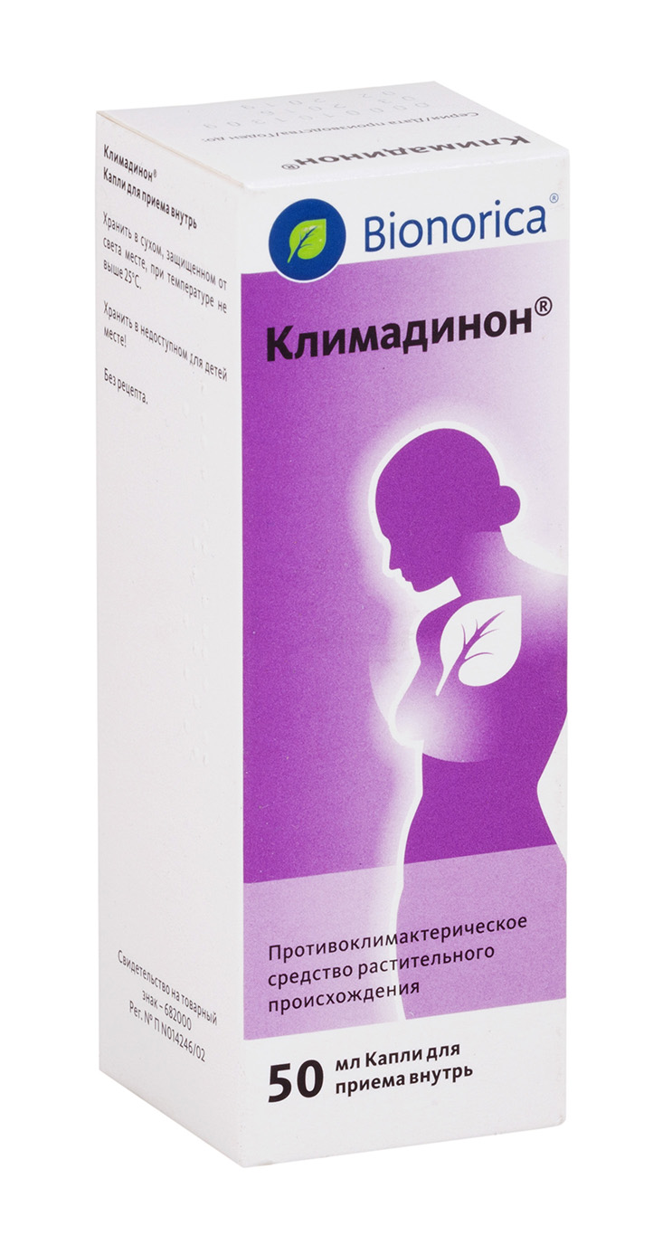 Климадинон р-р внутр 50мл