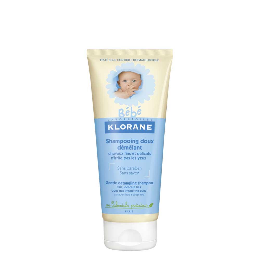 Клоран бебе шампунь мягкий 200мл д/легкого расчесывания волос