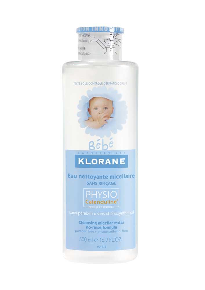 Клоран бебе вода детская очищающая 500мл