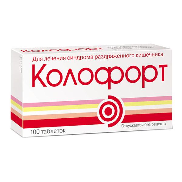 Колофорт таб. д/рассас n100