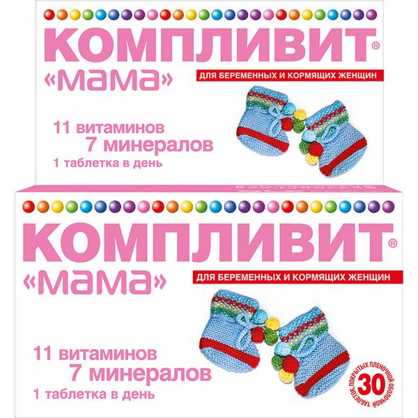 Компливит мама таб. п.о n30