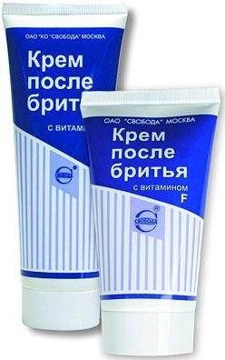 Крем п/бритья с витамином f 80г