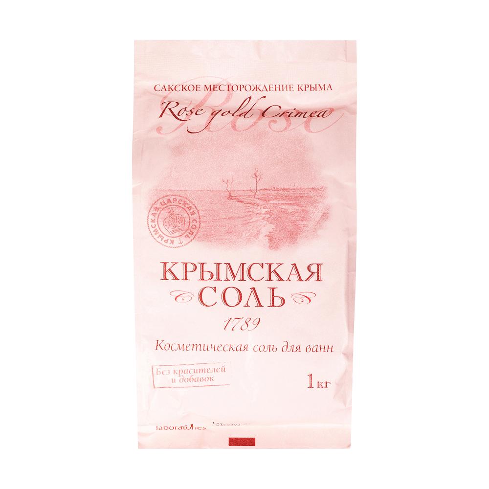 Крымская царская соль морская садочная природная пак. 1кг