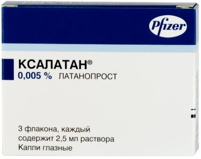 Ксалатан капли гл. 0,005% 2,5мл n3