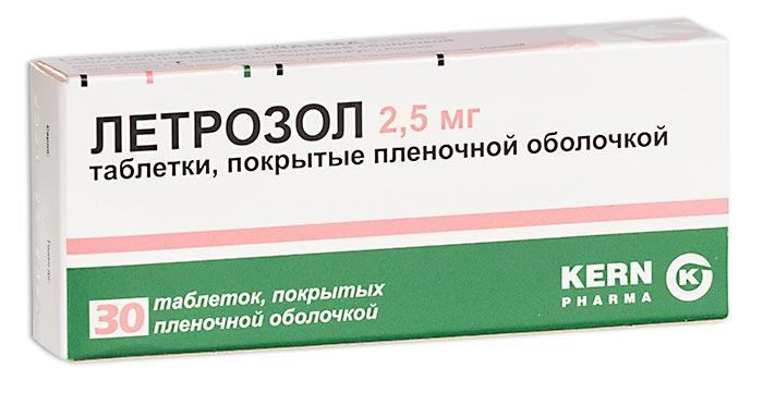Летрозол таб. п.п.о. 2,5мг n30