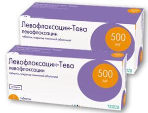 Левофлоксацин-тева таб. п.п.о. 500мг n7