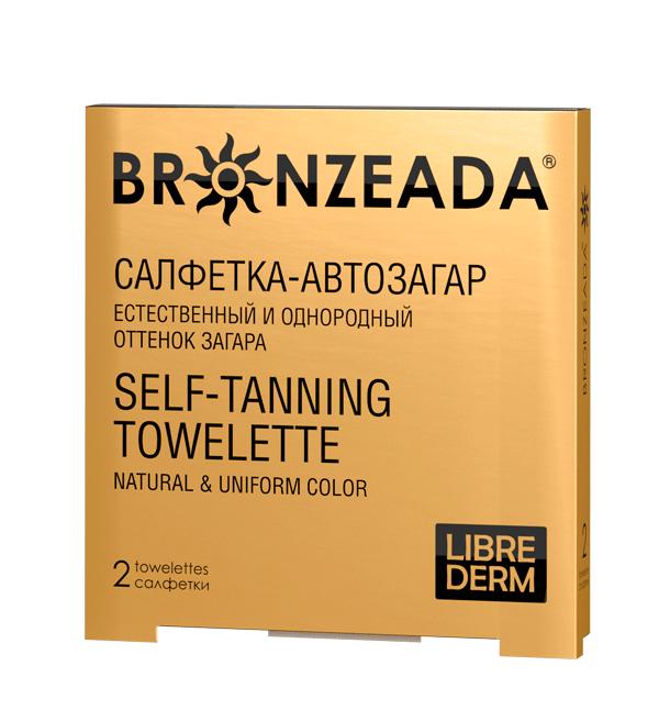 Либридерм бронзиада салфетка-автозагар №2