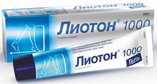 Лиотон 1000 гель 100г