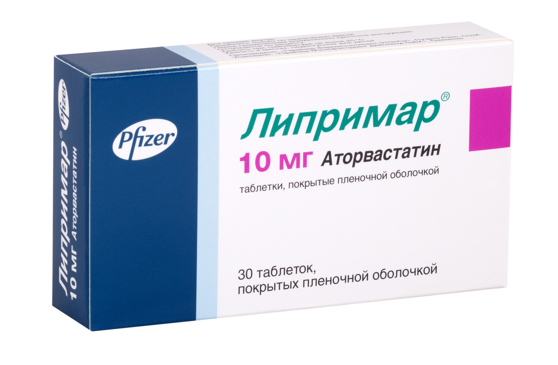 Липримар таб. п.п.о. 10мг n30