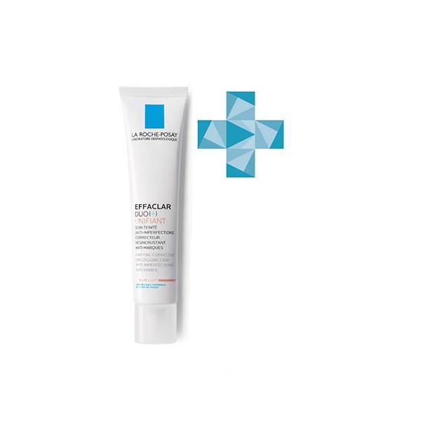 Ля рош-позе эфаклар дуо+ крем-гель корректирующий для проблемной кожи с тонирующим эффектом туба 40мл (m9114500)