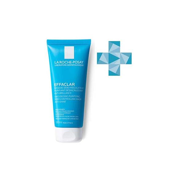 Ля рош-позе эфаклар маска для жирной проблемной кожи очищающая матирующая туба 100мл (m9144700)