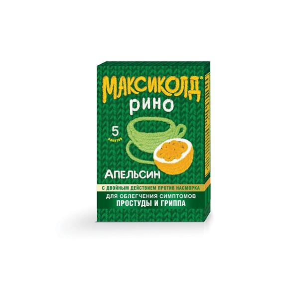 Максиколд рино пор. д/р-ра внутр апельсин 15г n5