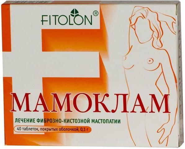 Мамоклам таб. п.о 100мг n40
