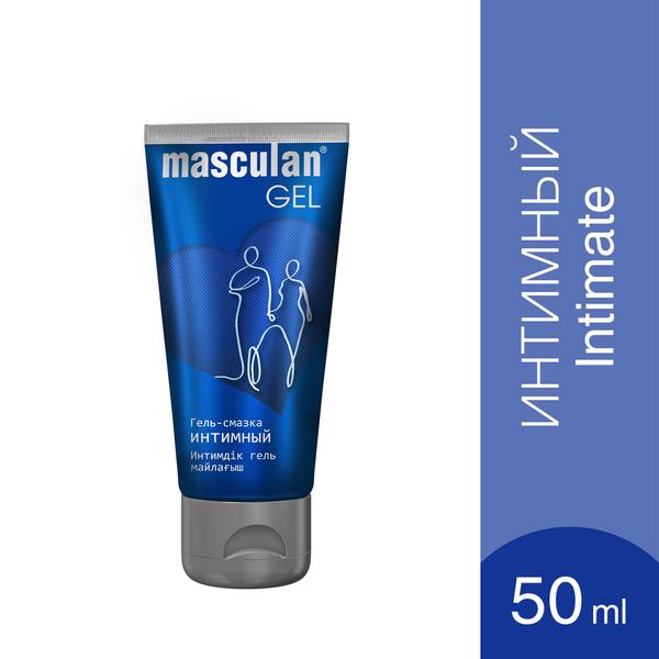 Маскулан гель-смазка интимный masculan увлажняющий фл.50мл