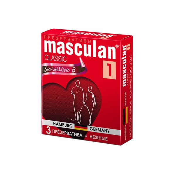 Маскулан презервативы masculan 1 classic №3 нежные